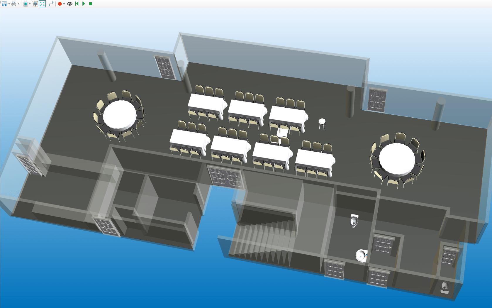 3D Event Plan